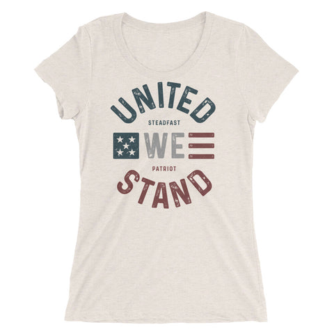 Women's Stand United Tri-Blend Tee