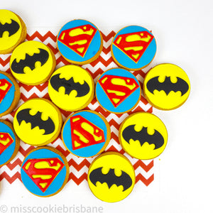 You Are My Superhero Cookies