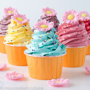 Pretty Flower Cupcakes