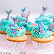 Load image into Gallery viewer, Mermaid Cupcakes