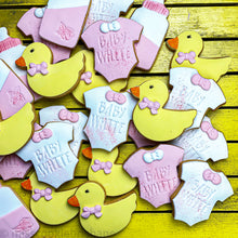Load image into Gallery viewer, Rub-a-Dub-Dub Baby Shower Cookies