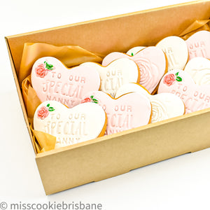 Personalized Large Cookie Box