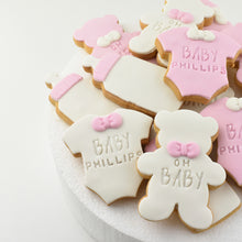 Load image into Gallery viewer, Teddy Bear Baby Shower Cookies