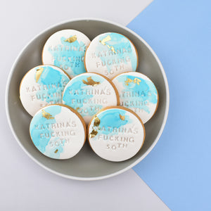 Naughty Birthday Cookies