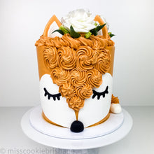 Load image into Gallery viewer, Cute Animal Face Cake