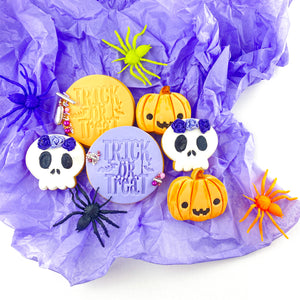 Halloween Cookie Box - Large