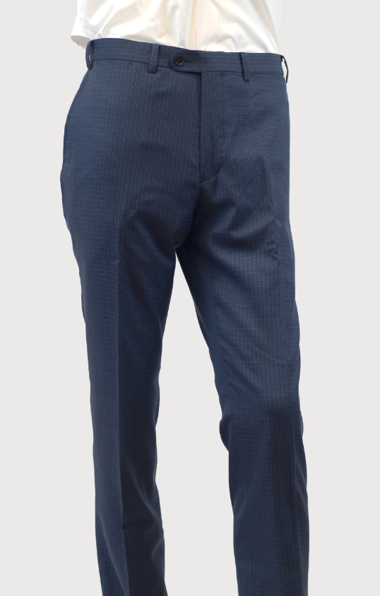 Guabello Navy Blue Trousers