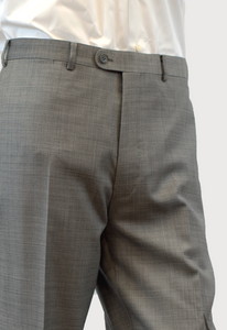Pattern Light Grey Trousers
