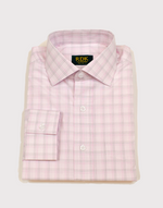 Load image into Gallery viewer, RDK Pink Plaid Dress Shirt