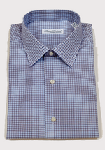 Load image into Gallery viewer, Luciano Lombardi Blue Dress Shirt
