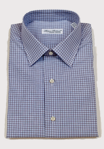 Luciano Lombardi Blue Dress Shirt