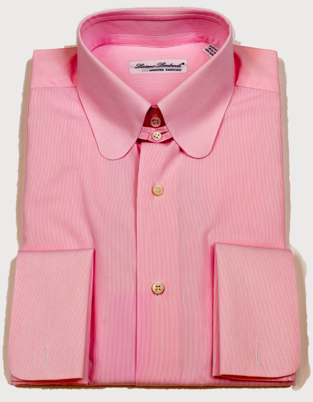 Luciano Lombardi Pink Dress Shirt