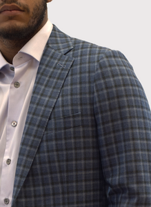 Draco Plaid Blazer
