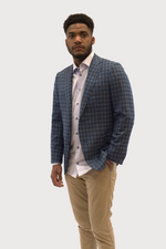 Load image into Gallery viewer, Drago Plaid Blazer