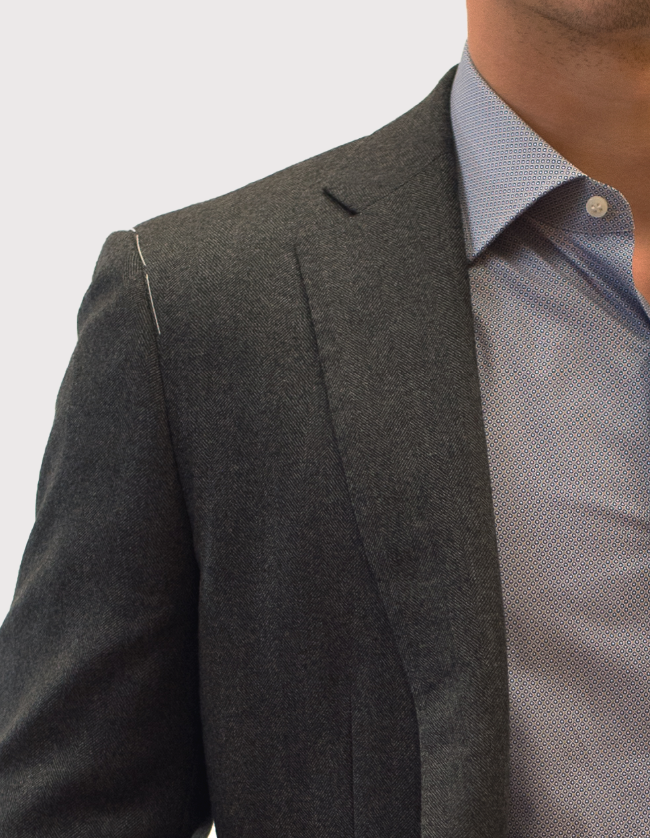 Ariston Herringbone Blazer