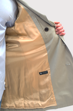 Load image into Gallery viewer, Khaki Casual Trench Coat