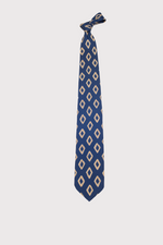 Load image into Gallery viewer, F. Marino Diamond Pattern Silk Ties