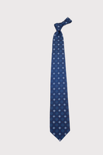 Load image into Gallery viewer, F. Marino Navy Blue Silk Ties