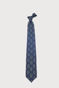 F. Marino Diamond Pattern Silk Ties
