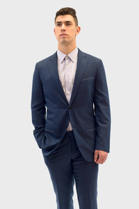 Vitale Barberis Canonico Navy Blue Suit
