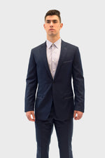 Load image into Gallery viewer, Loro Piana Navy Blue Suit