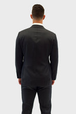 Load image into Gallery viewer, Loro Piana Grey Herringbone Suit