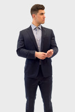 Load image into Gallery viewer, Loro Piana Grey Pencil Stripe Suit