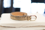 Load image into Gallery viewer, Farnese Authentic Snake Skin Belt