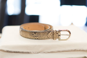 Farnese Authentic Snake Skin Belt