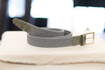 Load image into Gallery viewer, Farnese Authentic Elastic Crocodile Belt