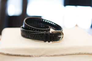 Farnese Authentic Crocodile Belt