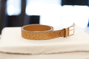 Farnese Authentic Ostrich Belt