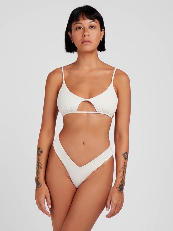 Off white full set Bali Bikini cream white