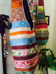 hand finished beaded bags