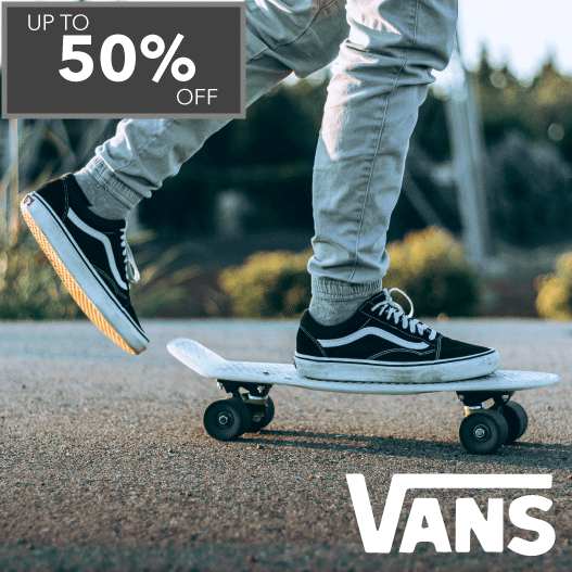 Vans - Up to 50% off