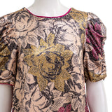 ANTHROPOLOGIE Women's Marie Sequined Floral Top