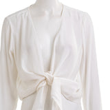 GO BY GOSILK Women's Go Tie One On Top