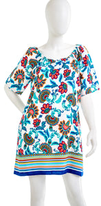 TOMMY BAHAMA TSW11224C RN 86549 Womens Flowers and Stripes Dress