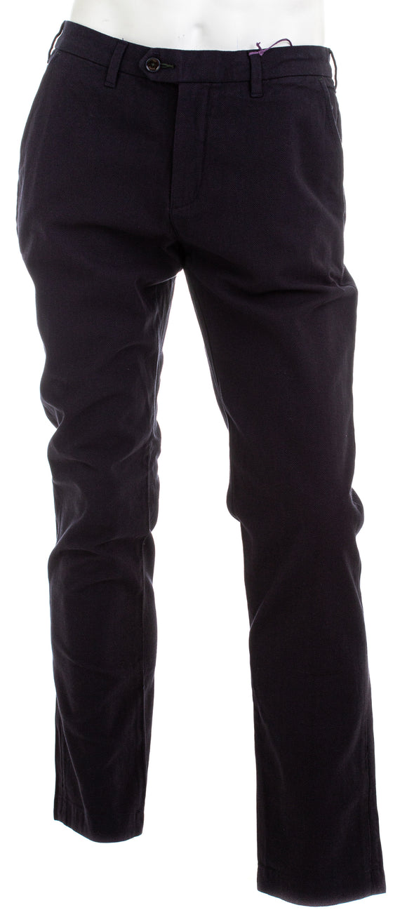 TED BAKER Classic Fit Brushed Trouser Pants