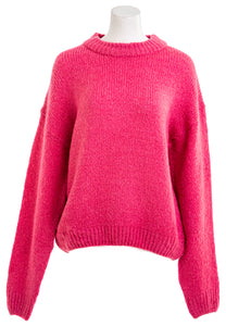 OAK + FORT Women's Coral Pink Sweater