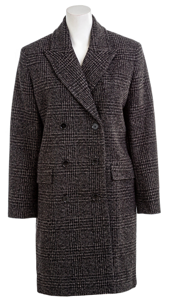 IRO Womens Wool-Blend Coat