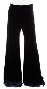 GALVAN LONDON Womens Winter Sun Flared Velvet Trousers