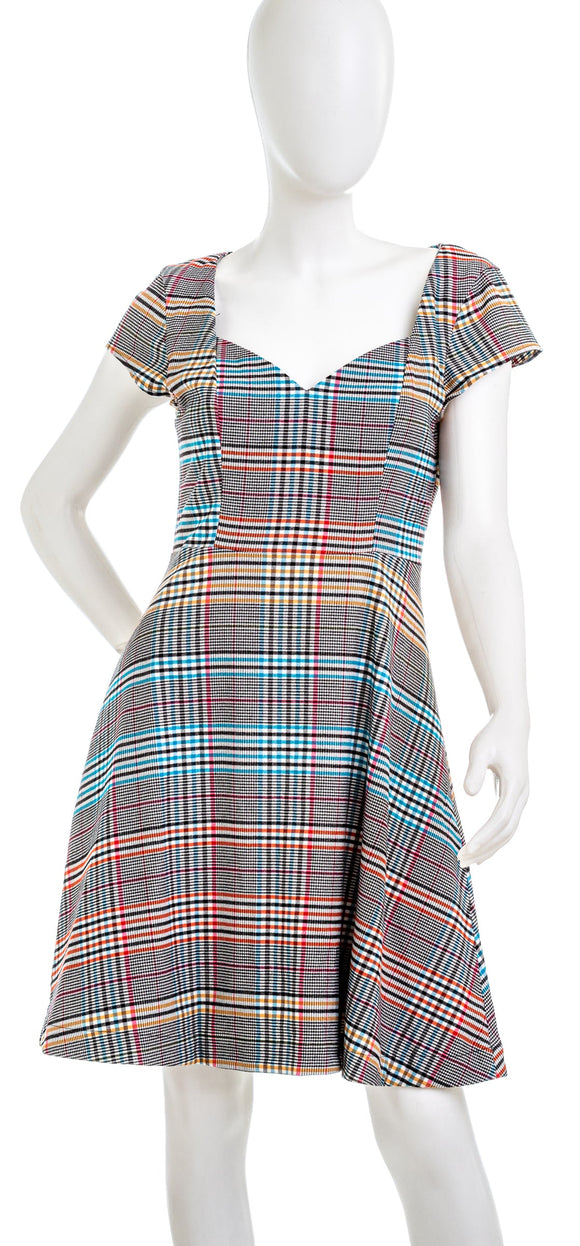 ANTHROPOLOGIE Finley Plaid Dress