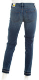 WHITE HOUSE BLACK MARKET 570250168 Ball Chain Slim Ankle Jeans