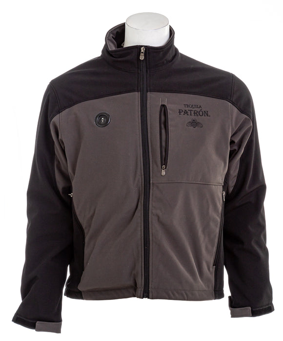 MY CORE Men's Patron Battery Heated Softshell Jacket NWOT