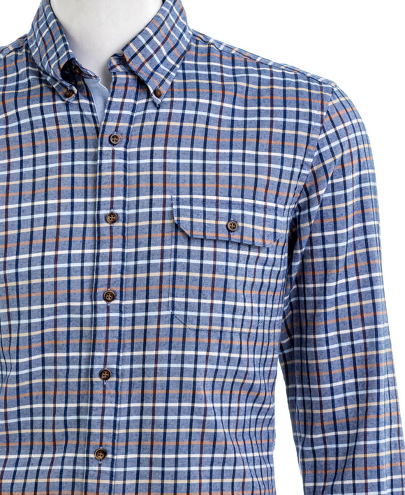 J HILBURN Button Down Shirt Multi Color Plaid