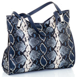VINCE CAMUTO Emely Snake Embossed Leather Tote