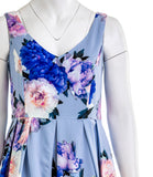 CITY CHIC Blue Floral Dress