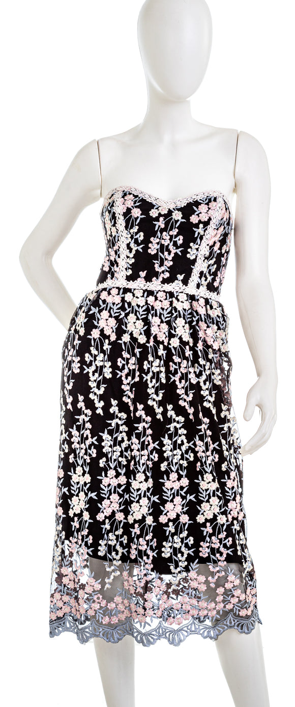 PARKER Strapless Sonny Lace Dress