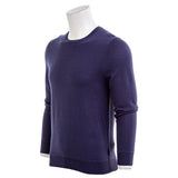 7 For All Mankind Men's Merino Wool Long Sleeve Crewneck Sweater